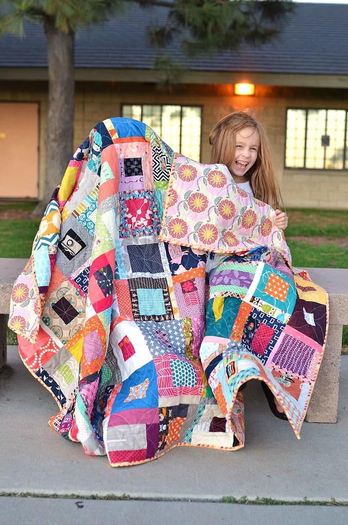 kara's scrap quilt
