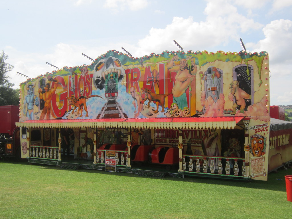 Richard Cadell Ghost Train Carters Steam Fair Bath 7 8 14 Flickr