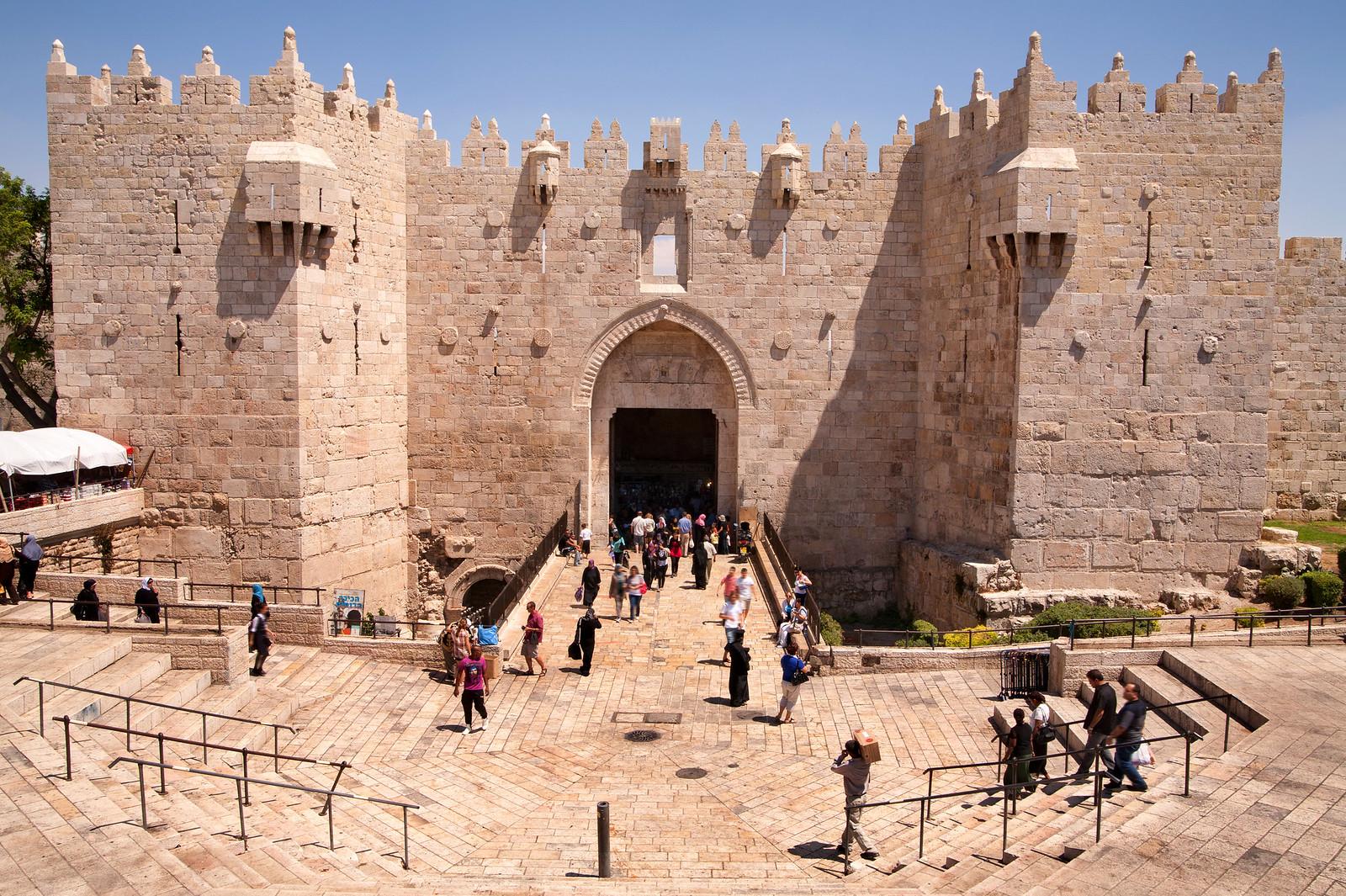 Jerusalem_Old City_Damascus Gate_Sha'ar Shkhem _2_Noam Chen_