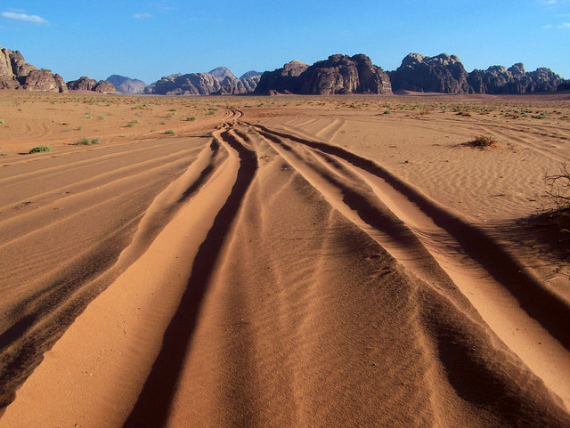 Wadi Rum tracks