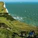 Falaises blanches de Douvres (Whitecliffs, Dover, Royaume-Uni)