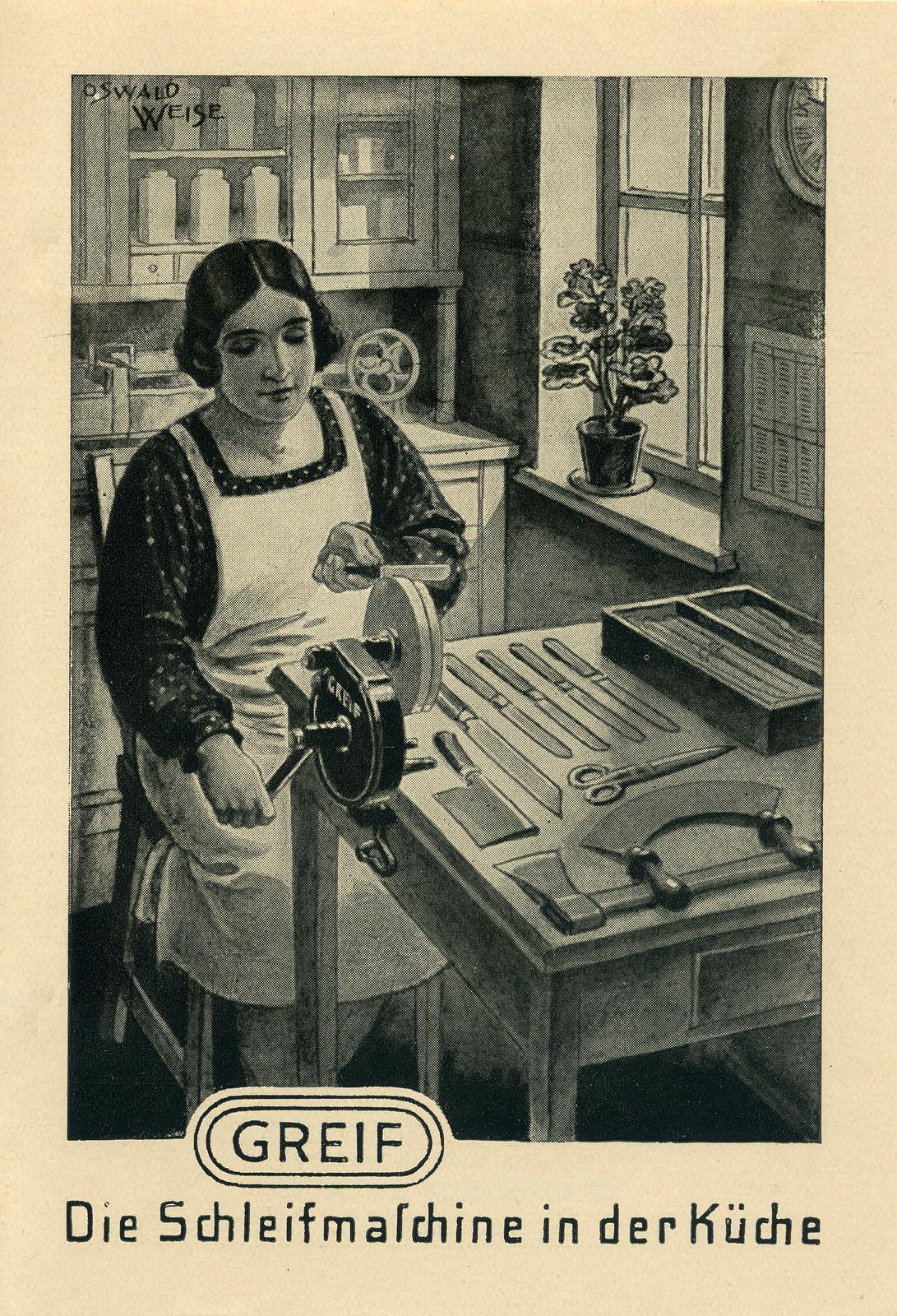 Werbeheftchen für Greif Schleifmaschinen, Bild 11