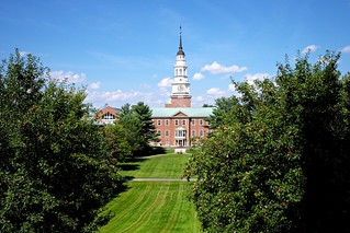 Colby College: Miller Library viewed from Lorimer Chapel | by *rboed*