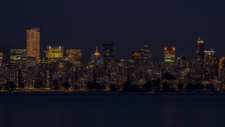 Vancouver Night Skyline | by Sworldguy