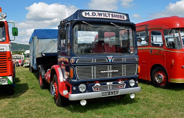RNW634G AEC Mandator MD Wiltshire
