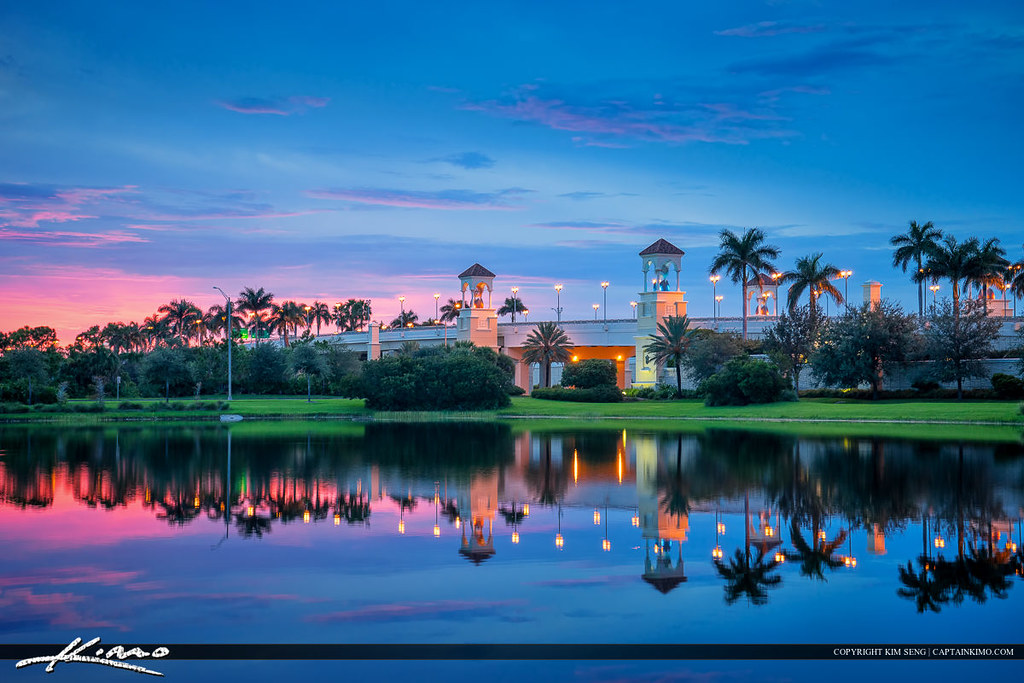 Palm Beach Gardens Florida Downtown Pga Bridge Hdr Image T Flickr