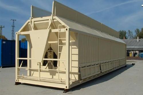 Foszfát szállító konténer