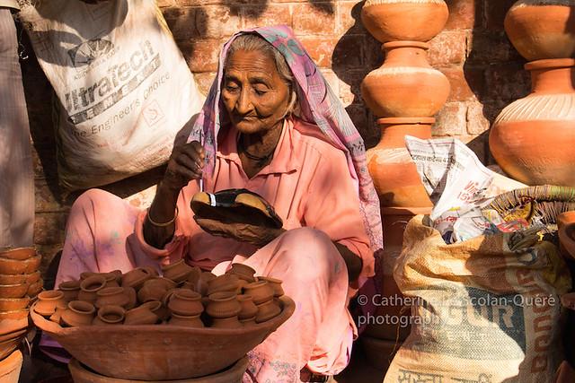 POTTERY. Delhi