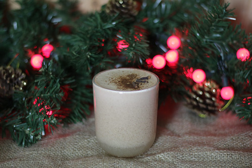 Fesive eggnog cocktail | by prettygreentea