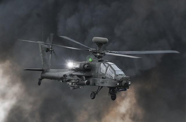 Apache, RAF Waddington.