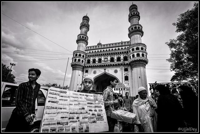 Sellers @Charminar ~ EXPLORED #194 (13-Jul-2014)