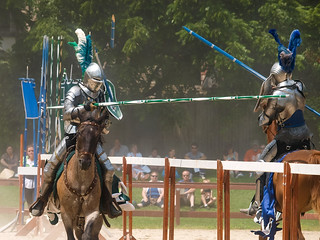 full tilt jousting | by contemplative imaging