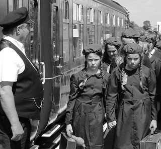 Image result for evacuees ww2