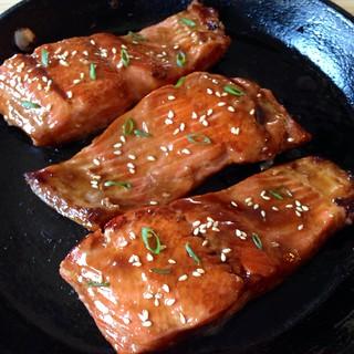 Salmon teriyaki | by joyosity