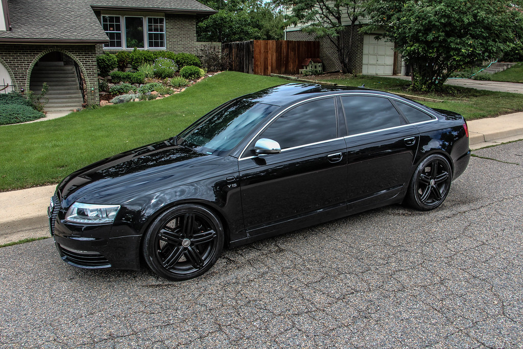 All Black Audi Rs6 C6 V10 For An In Ride Video Of This Car Flickr