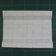 วิธีพับกล่องของขวัญแบบมีฝาปิด (Origami Present Box With Lid) 017