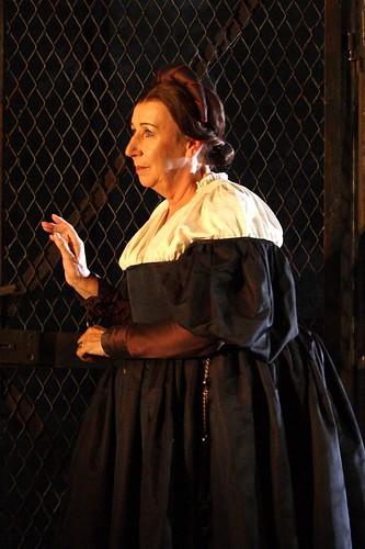 Elizabeth Sikora in action.