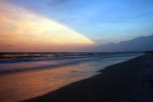sunset beach landscape coast landscapes sand surf florida dusk motel resort driftwood emerald mexicobeach
