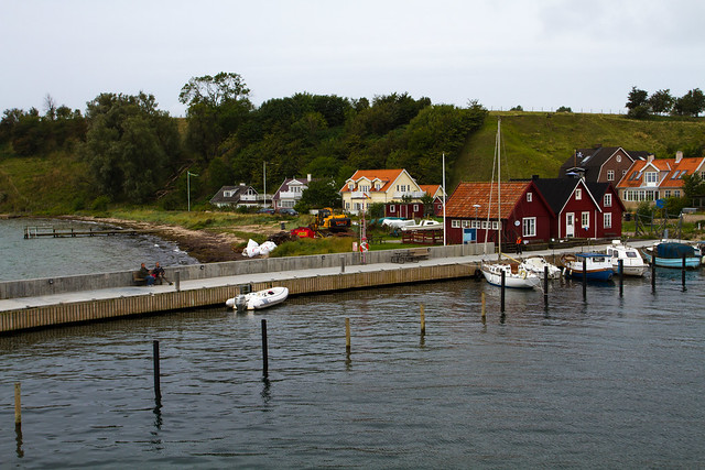 The harbor on the island of Ven