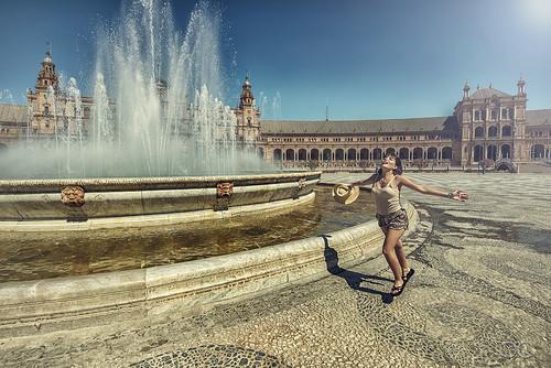 Summer in Seville