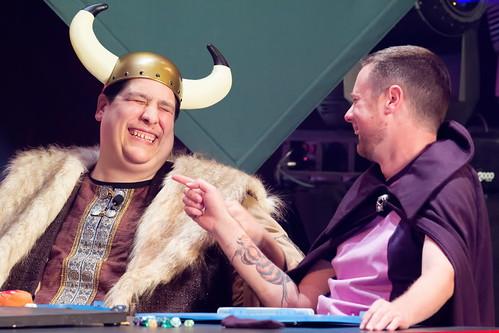 Scott Kurtz & Mike Krahulik enjoy the moment | by DarkPhibre