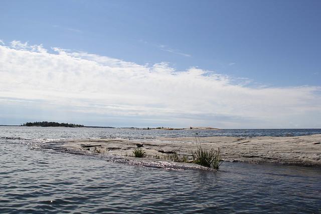 Canoeing on Georgian Bay