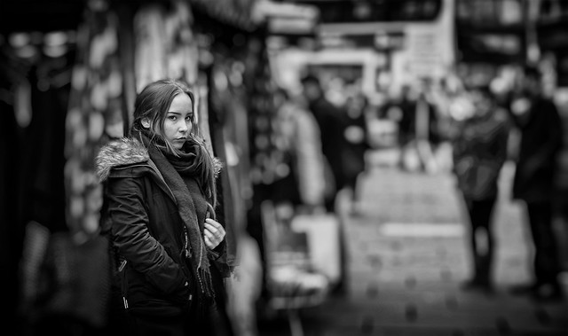 the girl from the market stall