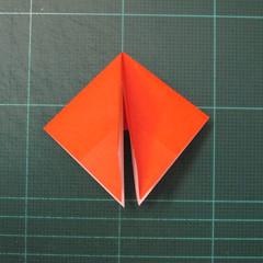 วิธีพับกระดาษเป็นที่คั่นหนังสือรูปผีเสื้อ (Origami Butterfly Bookmark) 020
