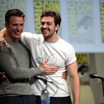 Chris Evans & Aaron Taylor-Johnson