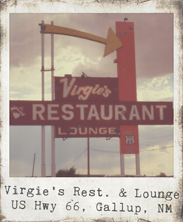 Virgie's Restaurant & Lounge - Route 66, Gallup, New Mexico | by RoadTripMemories