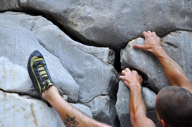 Italian bouldering