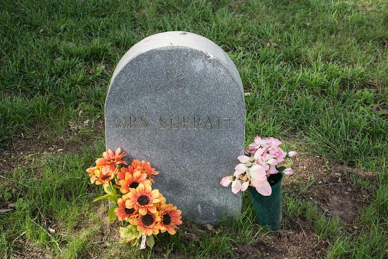 Mary Surratt grave section 12 - Mt Olivet - Washington DC - 2014-07-18