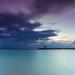 Long Exposure Sunrise Landscape by Manubawa Pemaron
