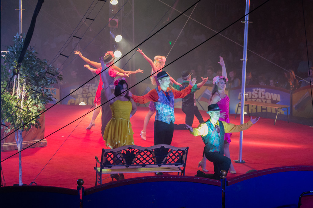 Moscow State Circus, Central Park, Plymouth - 15/08/2014