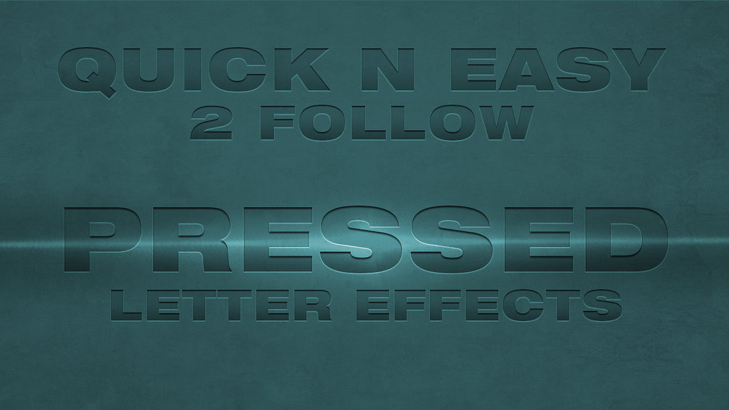 Letterpress Text Effect in Photoshop Youtube Thumbnail   Flickr