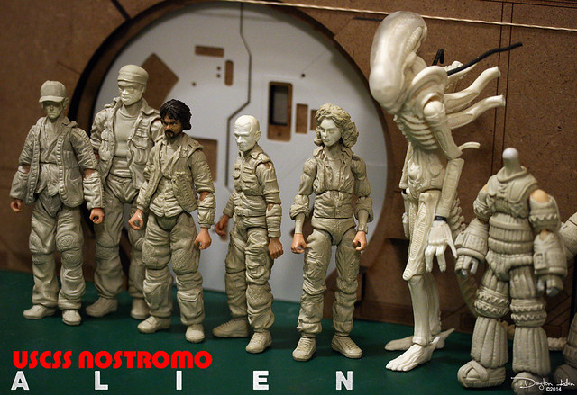Nostromo Crew WIP 1