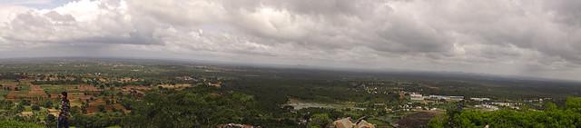 Shravanabelagola_panorama
