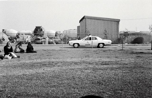 Los Alamitos Police car and Gellers RediMix