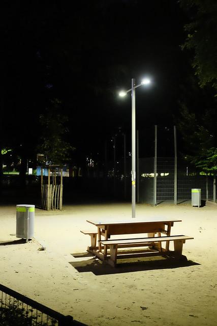 Karlsplatz bei Nacht