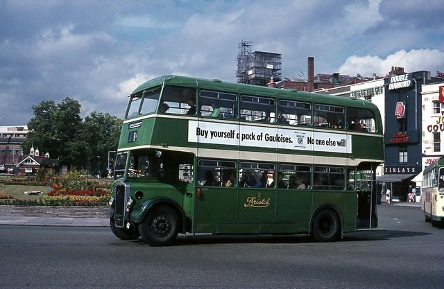 Bristol City KSW C8332 in centre, Jul'70.