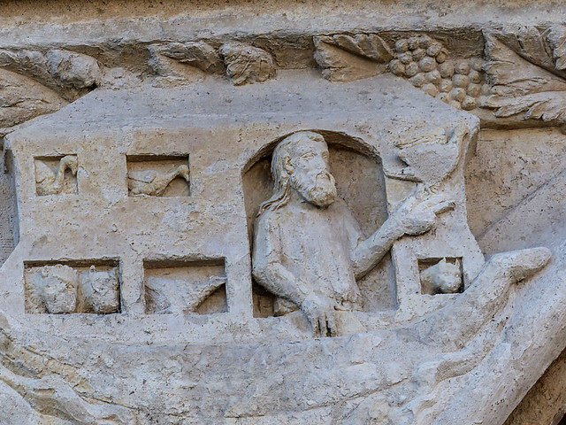 Tue, 08/19/2014 - 10:55 - Spandrel carving portal of St Stephen - Bourges Cathedral France 19/08/2014