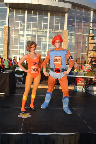 Runner Up Traditional Superheroes - Thundercats - Joey & Victoria Melche | by CASA of Travis County