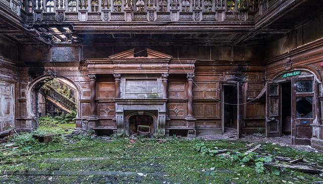 Abandoned Hospital in Ayrshire Scotland