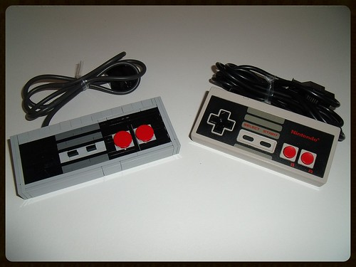 lego nintendo nes | by Old School Brick