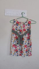 Back of dress t  from Sew Sweet Handmade , size 100cm