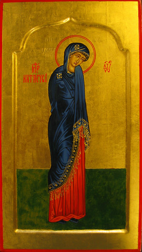 2011 Icône de la Mère de Dieu du Refuge (Katafigue) - The Katafigue (Refuge) Mother of God Icon (main de Nylda Aktouf) | by Périchorèse-iconographie