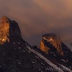 Iceberg Peak Sunrise