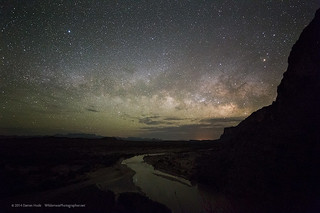 Big Bend and Rio Grande Nightscape   by Wilderness Photographer