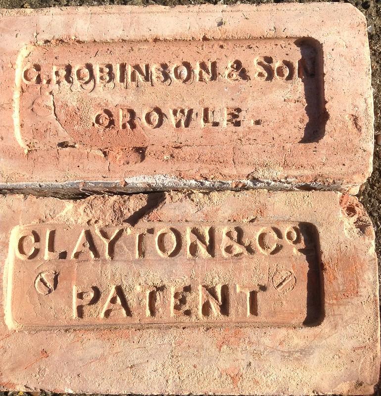 Crowle Brick Robinson, Clayton Patent