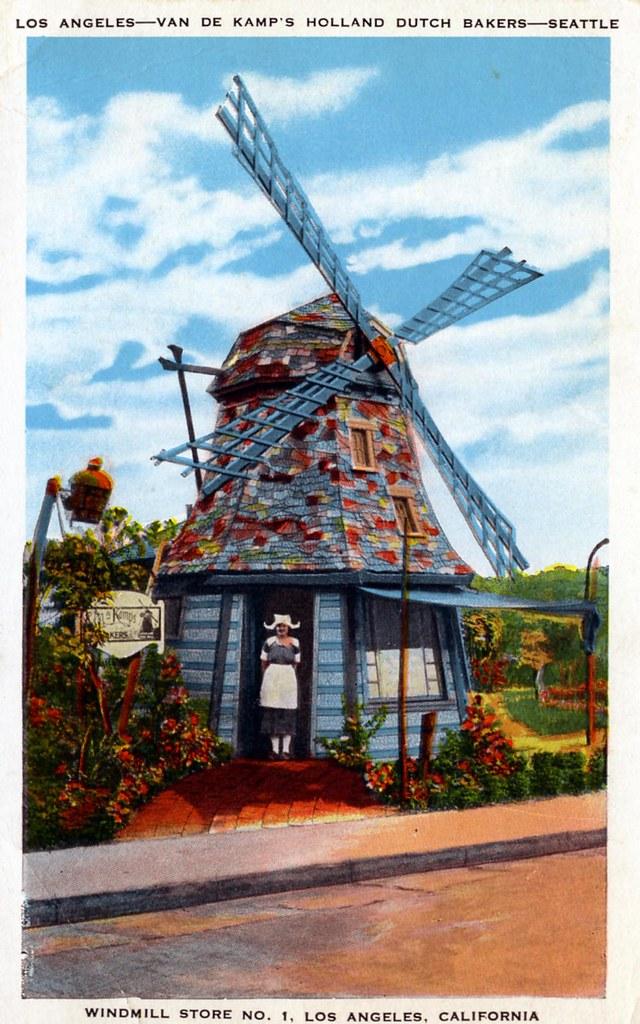 Van De Kamp's Holland Dutch Bakers Los Angeles CA Seattle